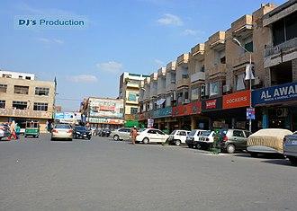 Cantonment (Pakistan) - Sadar Bazaar in Multan Cantonment