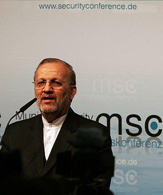 Manouchehr Mottaki - Mottaki in 2010 Munich Security Conference
