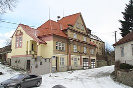 Municipal office in Biskupice-Pulkov in 2015, Biskupice-Pulkov, Třebíč District.JPG