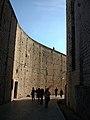 Muralles de Dubrovnik des de l'interior de la ciutat.JPG
