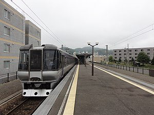 Muroran Station - Image: Muroran station Platform 20120902