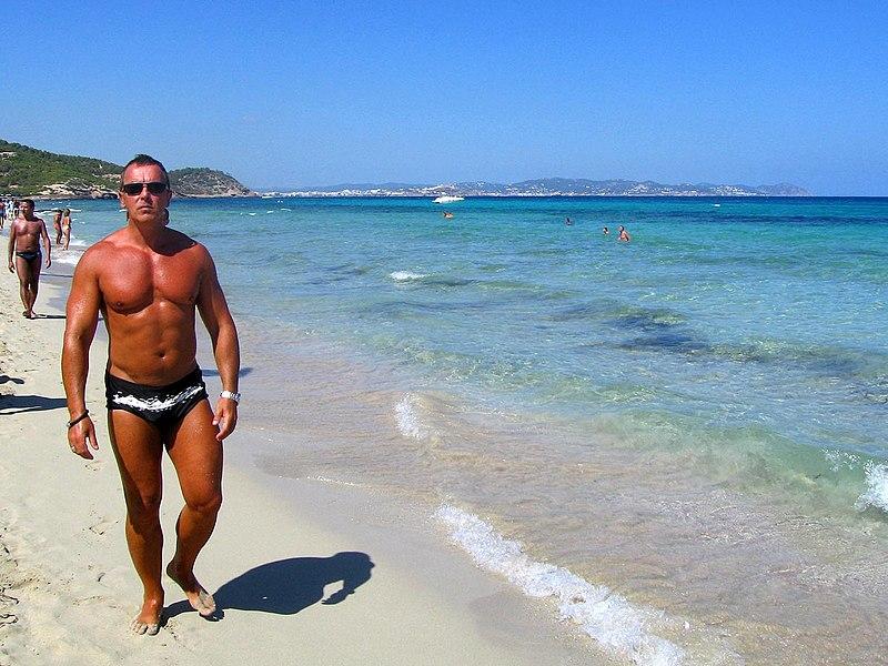Foto das praias de Ibiza