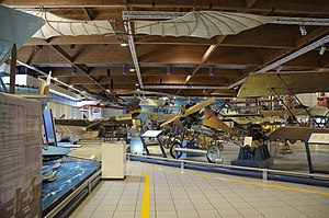 Museo dell'Aeronautica Gianni Caproni main hall (2).JPG