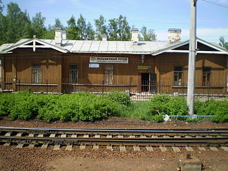 Vsevolozhsky District - Melnichny Ruchey station, Vsevolozhsk