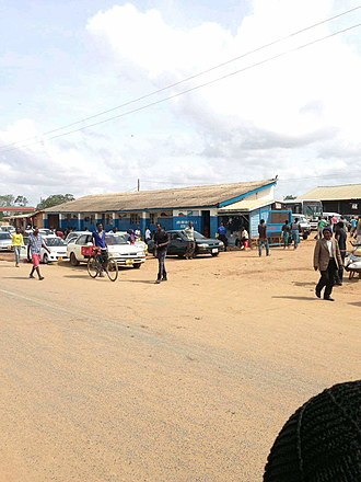Mzimba District - Image: Mzimba Bus Depot