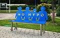 NÖ Hypo bench, Oberwaltersdorf.jpg