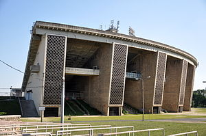 Ferenc Puskás Stadium (1953) - The closed upper tier