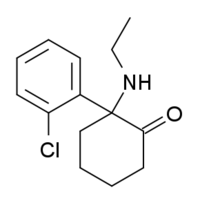 N-Ethylnorketamine structure.png