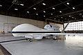 NASA 871 Global Hawk at Wallops Flight Facility hangar.jpg