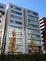 NRE Yaesudori Building, at Hatchobori, Chuo, Tokyo (2019-01-02) 02.jpg