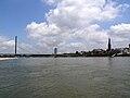 NRW, Düsseldorf - Oberkasseler bridge 04.jpg