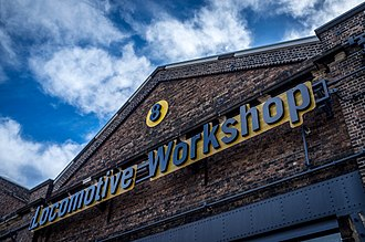 Eveleigh Railway Workshops - The former Eveleigh Railway Workshops,  now Australian Technology Park