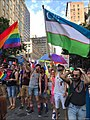 NYC PRIDE PARADE - UZBEKISTAN'S FLAG - Uzbek Queer and Proud!.jpg