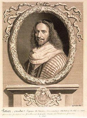 Nicolas Potier de Novion - Image: Nanteuil Nicolas Potier, seigneur de Novion, premier président au parlement de Paris (mort en 1693) 1664