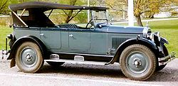 Nash Six Touring de 1927