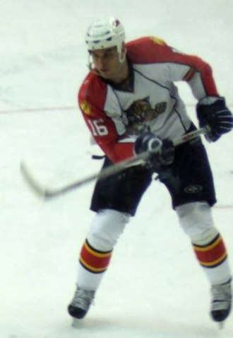 Nathan Horton - Horton with the Florida Panthers in 2007