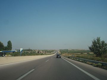 National Road 67, Greece - Section Nea Kallikratia-Thessaloniki - 02.jpg