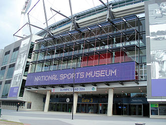 National Sports Museum - Outside National Sports Museum at the Melbourne Cricket Ground
