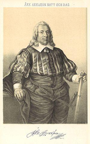 Marshal of the Realm - Image: Natt och Dag, Åke Axelsson (ur Svenska landtmarskalkar)