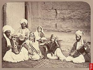 John Burke (photographer) - Image: Nautch girls of Kabul