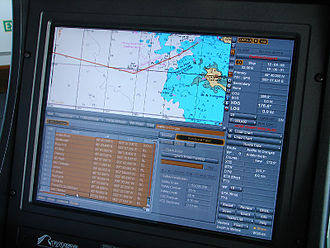 Navigator - Modern navigators often enter passage plans on electronic systems.