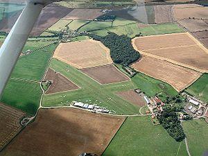 Netherthorpe Airfield - Image: Neth