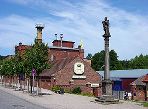 Neuzeller Kloster Brewery - The building of the brewery