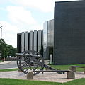 Nevada Iowa 20090816 Courthouse Cannon.JPG