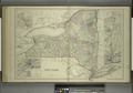 New York; Niagara River and Vicinity; Map of the Hudson River from New York to Saratoga Springs; Vinicity of New York NYPL1575956.tiff