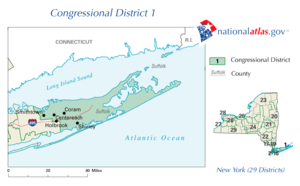 George Demos - New York's 1st congressional district
