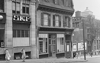 SKF - SKF office in Montreal, Canada in 1940