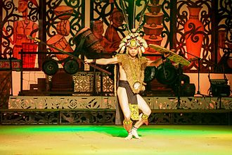 Ngajat, the Iban warrior dance gazetted as part of Sarawak culture. Ngajat, the Iban's Warrior Dance.jpg