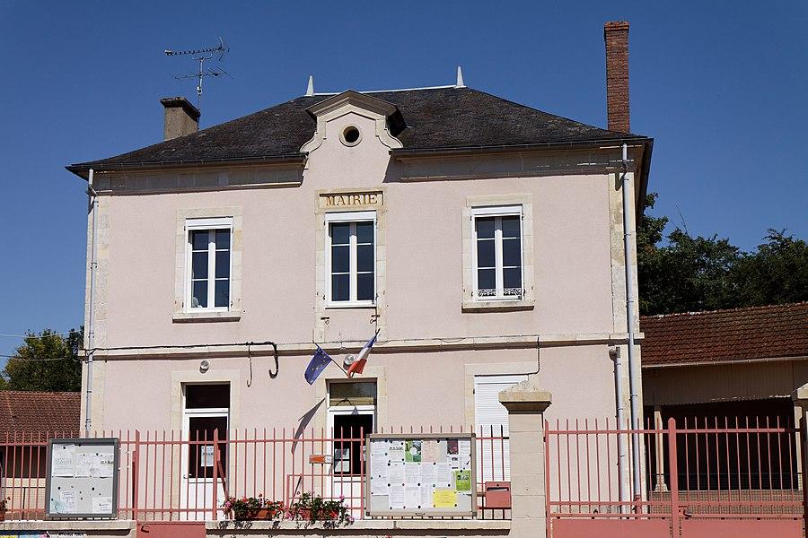 Mairie de la commune de Saint-Loup.