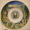 Nicola da urbino, piatto con il supplizio di marsia, 1525 ca..JPG