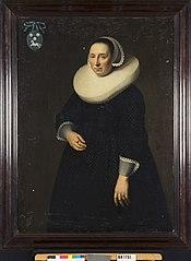 Elisabeth Cobbault (1587/88-1655). Echtgenote van Pieter de Schilder