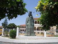 Nicosia - Statue of Archbishop Makarios.jpg