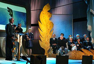 Nike Award - 2005 Nike Award ceremony with former Polish president Aleksander Kwaśniewski