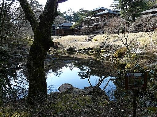 Nikko former imperial villa Tamozawa