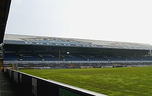 1994 Kangaroo tour of Great Britain and France - Image: Ninian Park Popular Bank 2009