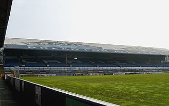 1995 Rugby League World Cup - Image: Ninian Park Popular Bank 2009