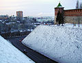 Nizhny Novgorod. Koromyslova (Yoke) Tower above Zapochainye Side.jpg