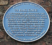 No.78, Hailgate, blue plaque (geograph 4308469).jpg