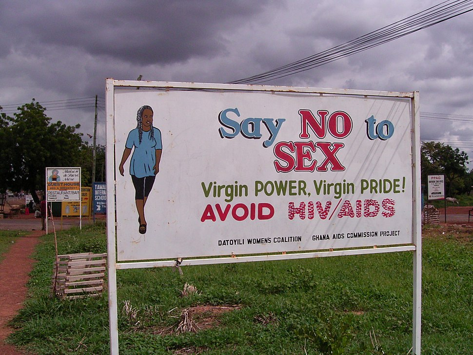 No Sex Signage in Ghana