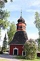 Noormarkku Church bell tower 2018.jpg