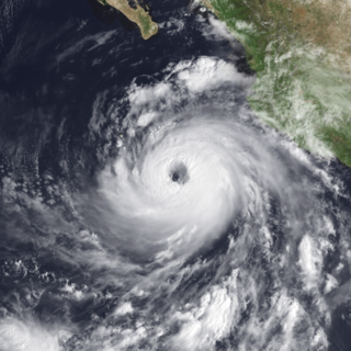 Hurricane Nora (1997) Category 4 Pacific hurricane in 1997