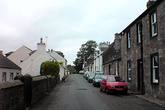 Houston, Renfrewshire - North Street, in the old village