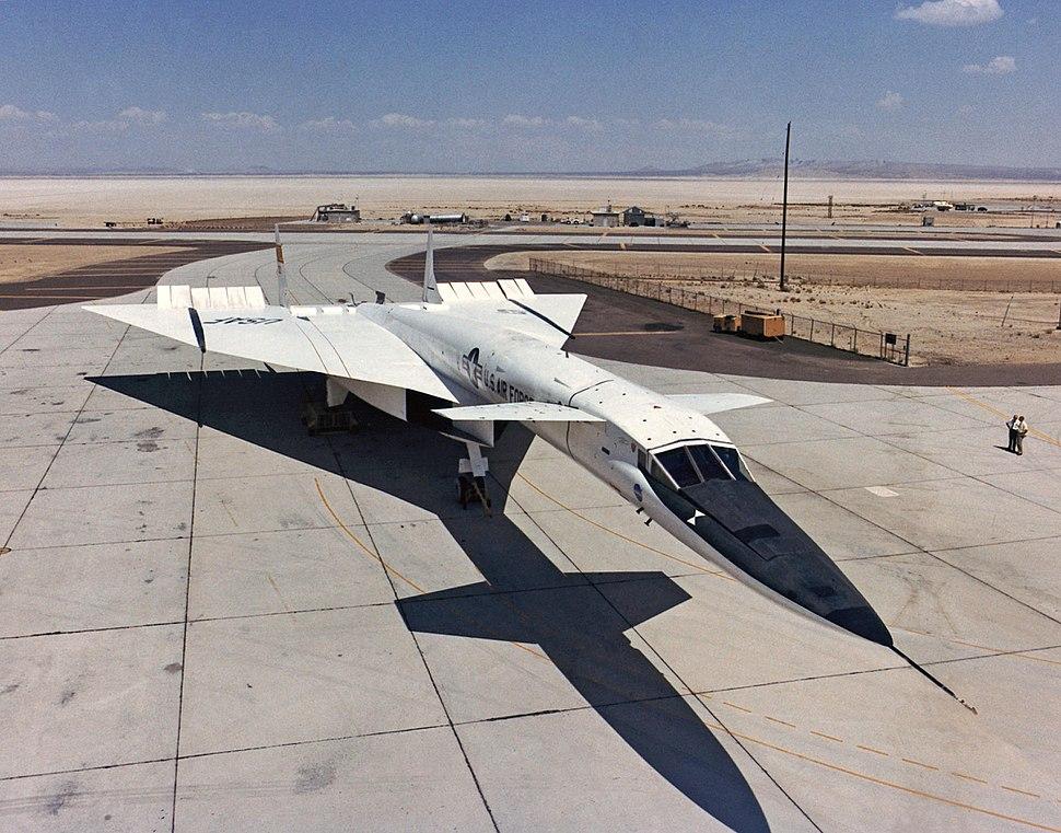 North American XB-70 on ramp ECN-1814