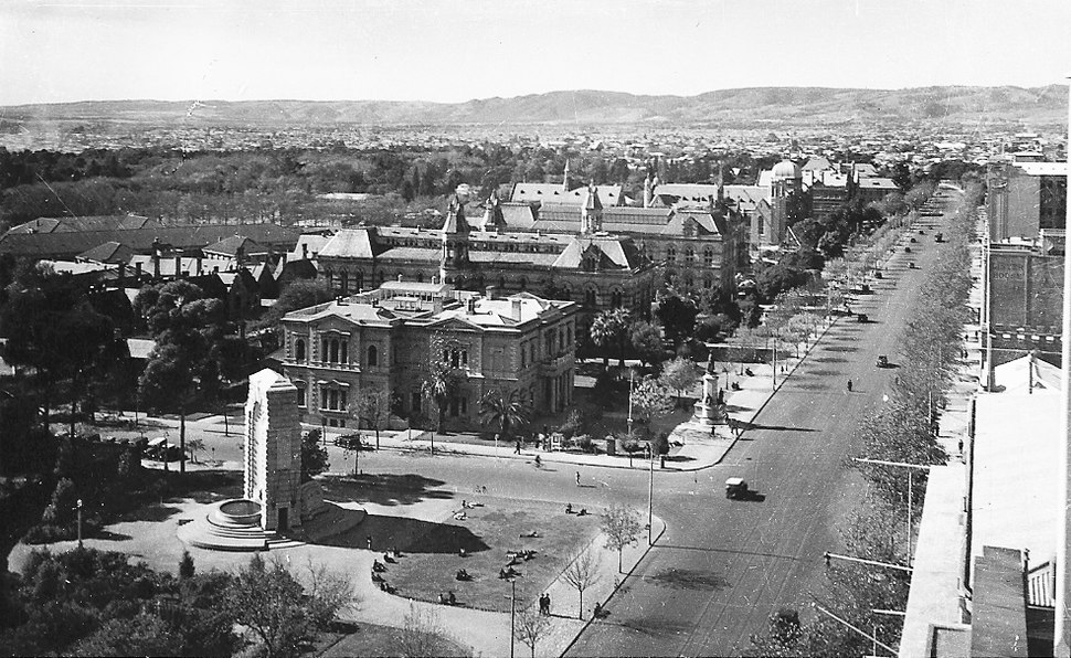 North Terrace, Adelaide, 1940