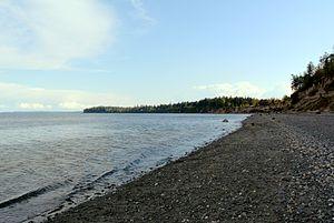 Marrowstone, Washington - Northern side of Nodule Point
