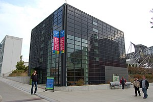Exelon Pavilions - The Northwest Exelon Pavilion is the Millennium Park Welcome Center and houses the park's office.